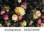 Old Fashioned Floral Peonies O...