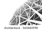 architecture abstract  3d... | Shutterstock . vector #565683598