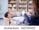 medical concept with... | Shutterstock . vector #565705420