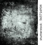grunge scratched texture... | Shutterstock . vector #565716934