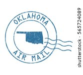 oklahoma post office  air mail  ...   Shutterstock .eps vector #565724089