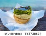 australian traditional meat pie ...   Shutterstock . vector #565728634