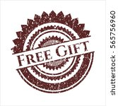 red free gift distressed rubber ...