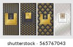 chocolate bar packaging mock up ... | Shutterstock .eps vector #565767043