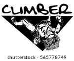 climber | Shutterstock .eps vector #565778749