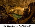 Cave With Small Lake