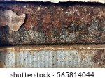 rust of wall | Shutterstock . vector #565814044