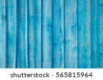 Blue Painted Weathered Plank...