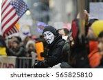 toronto   november 19  a... | Shutterstock . vector #565825810