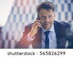 close up portrait of... | Shutterstock . vector #565826299