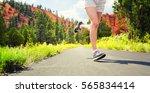 runner | Shutterstock . vector #565834414