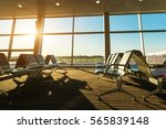 airport  bus or train station... | Shutterstock . vector #565839148
