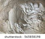 wet cement. wet cement mixed... | Shutterstock . vector #565858198
