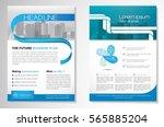 template vector design for... | Shutterstock .eps vector #565885204