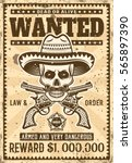 Mexican Bandit Skull In...