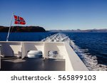Car Ferry In Norway And...