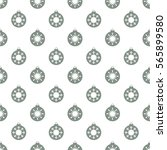 christmas snowflakes seamless... | Shutterstock . vector #565899580