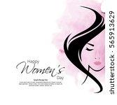 vector illustration for women... | Shutterstock .eps vector #565913629