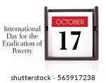 october 17   international day... | Shutterstock . vector #565917238