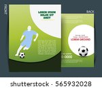 soccer football tournament... | Shutterstock .eps vector #565932028