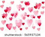 watercolor painted background... | Shutterstock . vector #565937134