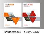 abstract flyer design... | Shutterstock .eps vector #565939339