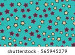 seamless texture of chaotic... | Shutterstock .eps vector #565945279