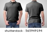 shirt design and people concept ... | Shutterstock . vector #565949194