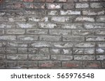 old rough dirty with cement... | Shutterstock . vector #565976548