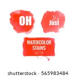 watercolor hand painting... | Shutterstock .eps vector #565983484