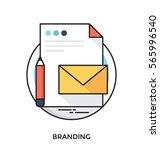 branding vector icon   Shutterstock .eps vector #565996540
