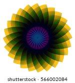 flower design | Shutterstock .eps vector #566002084