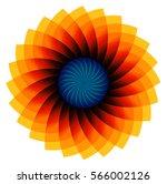 flower design | Shutterstock .eps vector #566002126