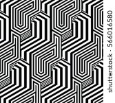 black and white pattern... | Shutterstock .eps vector #566016580