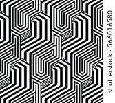 black and white pattern... | Shutterstock .eps vector #566016580