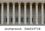 Neoclassical Colonnade With...