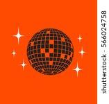 disco ball vector icon | Shutterstock .eps vector #566024758