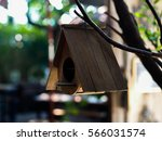 An Old   Weathered Birdhouse ...
