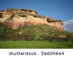 Sandstone Hills In South Africa'...