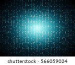 abstract blue mosaic vector... | Shutterstock .eps vector #566059024
