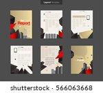 vector layout design template...   Shutterstock .eps vector #566063668