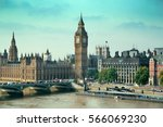 london westminster with big ben ... | Shutterstock . vector #566069230