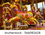 Carousel Horse With Traditiona...