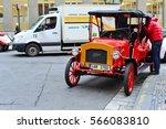 prague  czech republic ... | Shutterstock . vector #566083810