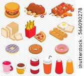 illustration of info graphic... | Shutterstock .eps vector #566090278