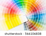 color palette of various