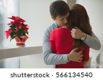 valentine's day concept. a... | Shutterstock . vector #566134540