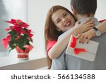 valentine's day concept. a... | Shutterstock . vector #566134588