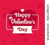 i love you text. flyer  poster... | Shutterstock .eps vector #566138614