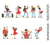 Artists Playing Music...